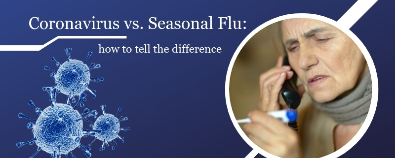 covid-19, Coronavirus or the Flu: How to Tell The Difference